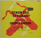 COLEMAN HAWKINS Tenor Sax Stylings, Vol. 1 album cover