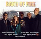 CONNIE CROTHERS Band Of Fire album cover