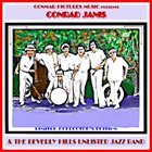 CONRAD JANIS Beverley Hills Unlisted Jazz Band Limited Edition album cover