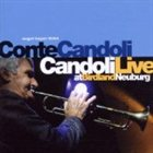 CONTE CANDOLI Candoli Live at Birdland, Neuburg album cover