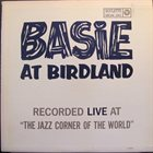 COUNT BASIE Basie At Birdland album cover