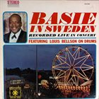 COUNT BASIE Basie In Sweden album cover