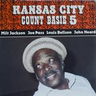COUNT BASIE Kansas City 5 album cover