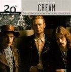 CREAM 20th Century Masters: The Millennium Collection: The Best of Cream album cover
