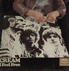 CREAM I Feel Free album cover