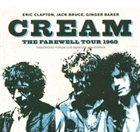 CREAM The Farewell Tour 1968 album cover