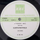 CURTIS MAYFIELD In Concert-486 album cover