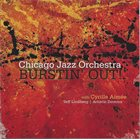 CYRILLE AIMÉE Chicago Jazz Orchestra With Cyrille Aimée ‎: Burstin' Out album cover