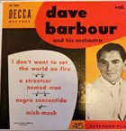 DAVE BARBOUR Dave Barbour album cover