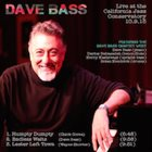 DAVE BASS Live at the California Jazz Conservatory album cover