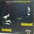 DAVE BRUBECK Jazz at Storyville album cover