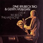DAVE BRUBECK Live at the Berlin Philharmonie (with Gerry Mulligan) album cover