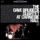 DAVE BRUBECK NYC Carnegie Hall album cover