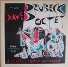 DAVE BRUBECK The     Dave Brubeck Octet: Distinctive Rhythm Instrumentals album cover
