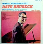 DAVE BRUBECK The Greats!!! album cover