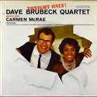 DAVE BRUBECK Tonight Only! album cover