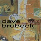 DAVE BRUBECK Vocal Encounters album cover