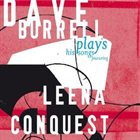 DAVE BURRELL Plays His Songs Featuring Leena Conquest album cover