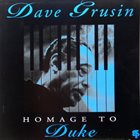 DAVE GRUSIN Homage to Duke album cover