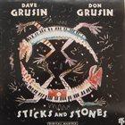 DAVE GRUSIN Dave Grusin & Don Grusin : Sticks And Stones album cover