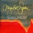 DAVE LIEBMAN David Liebman / Roberto Tarenzi / Paolo Benedettini / Tony Arco : Negative Space album cover