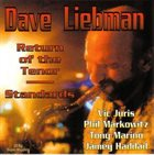 DAVE LIEBMAN Return of the Tenor: Standards album cover