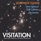 DAVE LIEBMAN Saxophone Summit: Visitation album cover