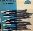 DAVE MCKENNA Solo Piano (ABC-Paramount) album cover