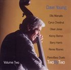 DAVE YOUNG Two By Two - Piano-Bass Duets Volume Two album cover