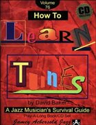 DAVID BAKER How to Learn Tunes album cover