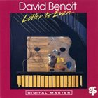 DAVID BENOIT Letter to Evan album cover