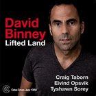 DAVID BINNEY Lifted Land album cover
