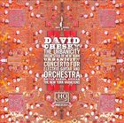 DAVID CHESKY Urbanicity; Concerto for Electric Guitar and Orchestra; The New York Variations album cover