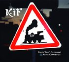 DAVID FIUCZYNSKI Kif (with Rufus Cappadocia) album cover