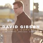 DAVID GIBSON A Little Somethin' album cover