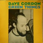 DAVID GORDON Green Things album cover