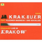 DAVID KRAKAUER Live in Krakow album cover