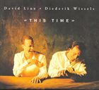 DAVID LINX David Linx - Diederik Wissels : This Time album cover