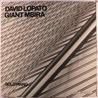 DAVID LOPATO Giant Mbira / Solo Piano album cover