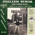 DAVID THOMAS ROBERTS Pinelands Memoir and Other Rags album cover