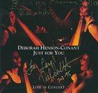 DEBORAH HENSON-CONANT Just for You album cover