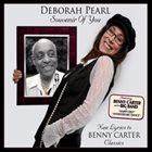 DEBORAH PEARL Souvenir of You - New Lyrics to Benny Carter Classics album cover