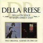 DELLA REESE Della on Stage / At Basin Street East album cover
