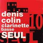 DENIS COLIN Clarinette Basse seul album cover