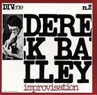 DEREK BAILEY Improvisation album cover