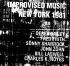 DEREK BAILEY Improvised Music New York 1981 album cover