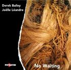 DEREK BAILEY No Waiting (with Joëlle Léandre) album cover