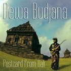 DEWA BUDJANA Postcard from Bali album cover