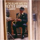 DEXTER GORDON At the Village Gate 1976 album cover