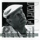 DEXTER GORDON Happy Birthday album cover